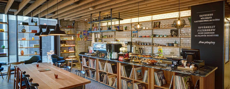 Canopy by Hilton Reykjavik City Centre, Island– Canopy Central Café