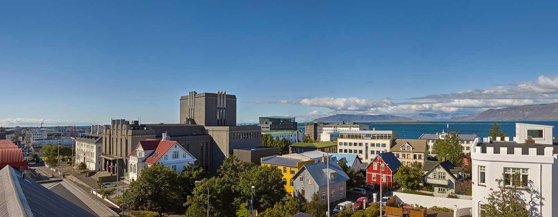 Canopy by Hilton Reykjavik City Centre, Island– Blick vom Balkon