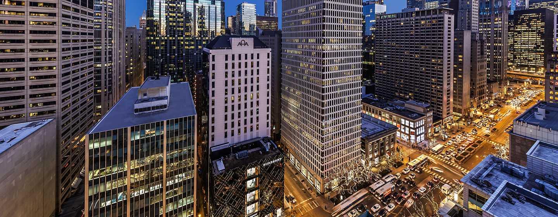 Conrad Chicago Hotel, USA – Ausblick vom Dach
