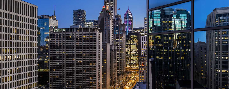 Conrad Chicago Hotel, USA – Stadtblick