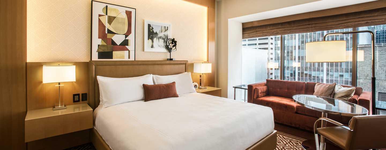 Conrad Chicago Hotel, USA – Standard Zimmer mit King-Size-Bett