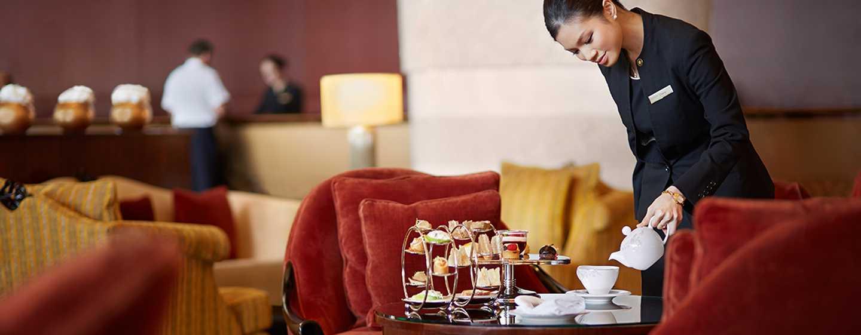 Conrad Dubai Hotel, VAE– Lobby Lounge