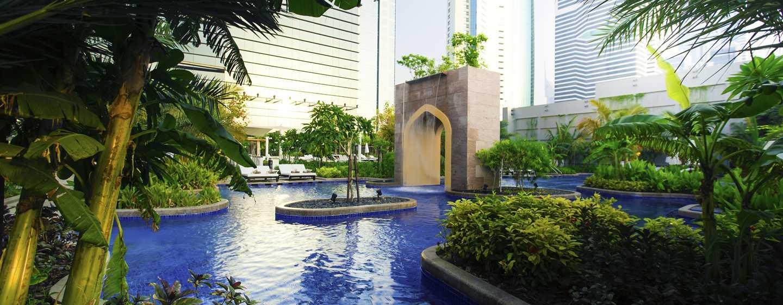 Conrad Dubai Hotel, VAE– Exotischer Swimmingpool
