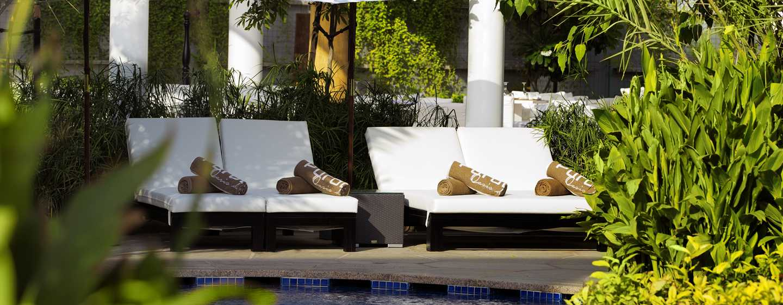 Conrad Dubai Hotel, VAE– Exotischer Purobeach Pool
