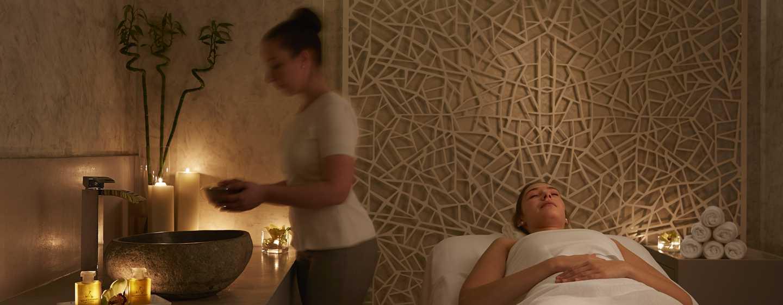 Conrad Dubai Hotel, VAE– Kosmetikraum im Spa