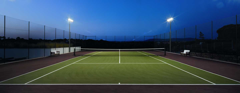 Conrad Algarve Hotel, Portugal–Tennisplatz