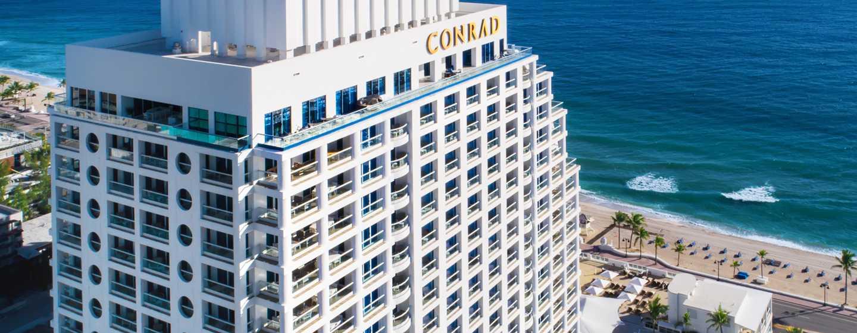 Conrad Fort Lauderdale Beach Hotel, USA– Außenbereich des Hotels