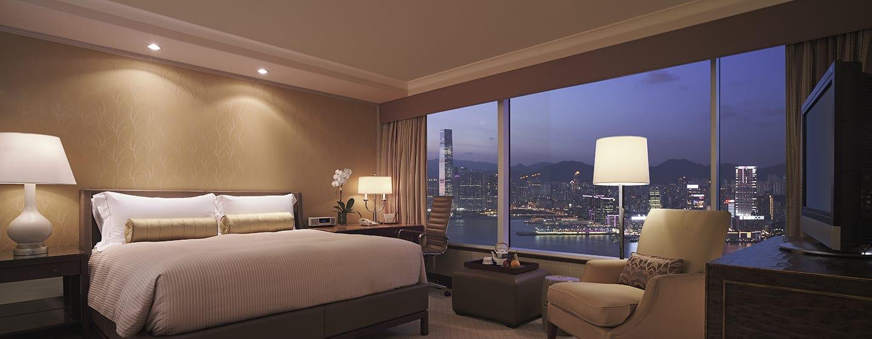 Conrad Hong Kong, China – Deluxe Zimmer mit Bergblick