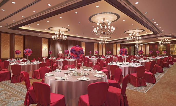 Conrad Hong Kong Hotel, China – Grand Ballroom