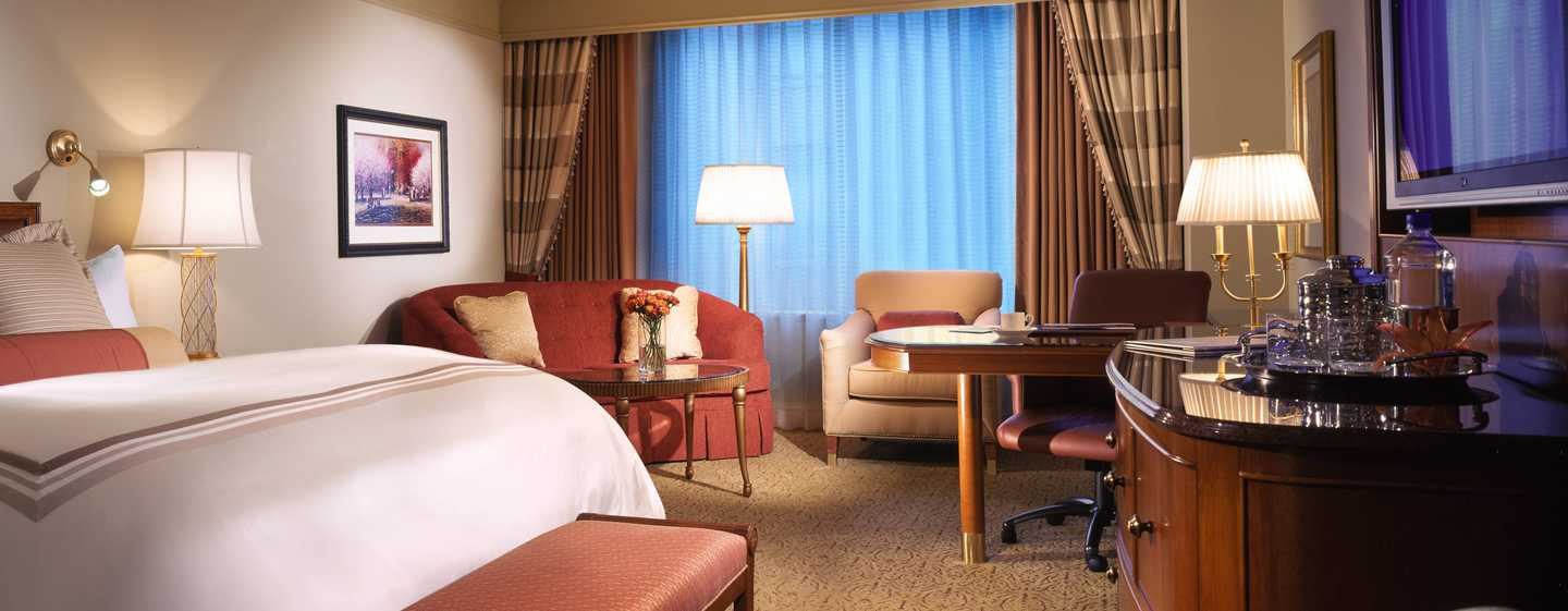 Conrad Indianapolis, USA– Deluxe Zimmer mit King-Size-Bett