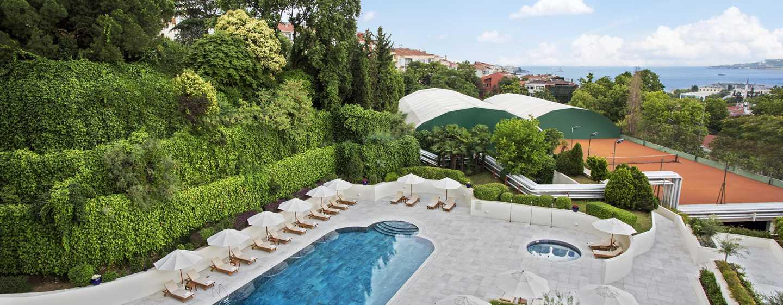 Conrad Istanbul Hotel, Türkei – Außenpool