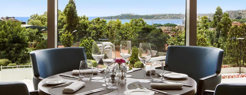 Conrad Istanbul Hotel, Türkei – Restaurant Manzara