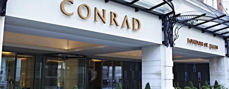 Conrad London St James Hotel, Großbritannien – Außenbereich des Hotels
