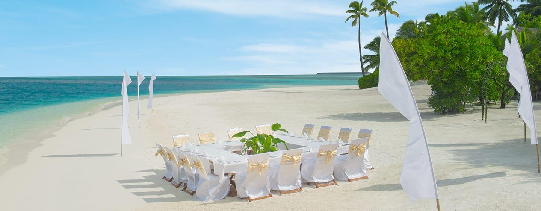 Conrad Maldives Rangali Island Hotel, Malediven – Strandrestaurant