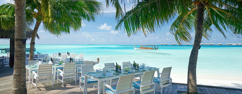 Conrad Maldives Rangali Island Hotel, Malediven – Restaurant und Private Bar