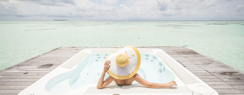 Conrad Maldives Rangali Island Hotel, Malediven – Whirlpool