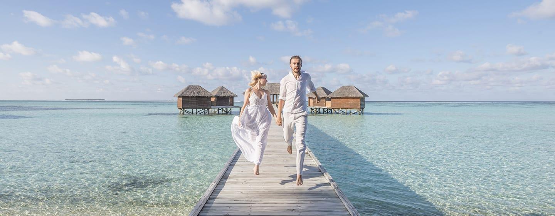 Conrad Maldives Rangali Island Hotel, Malediven – Flitterwochen auf den Malediven