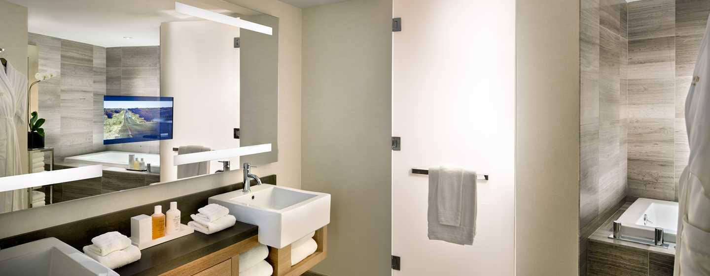 Conrad New York Hotel, USA– Badezimmer der Conrad Suite