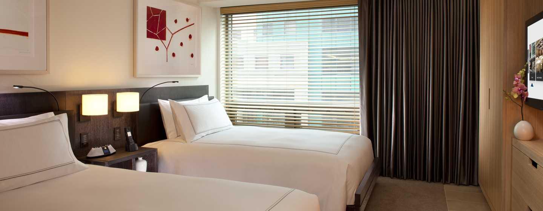 Conrad New York Hotel, USA– Deluxe Suite mit zwei Doppelbetten