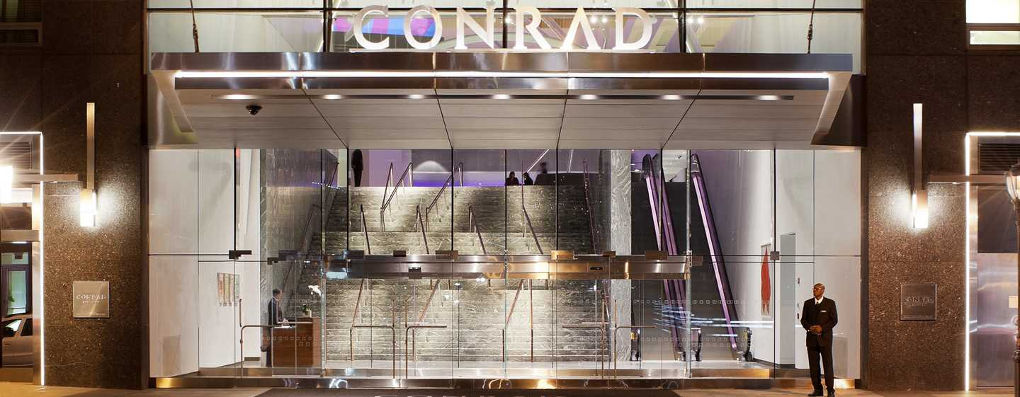 Conrad New York Hotel, USA – Hoteleingang