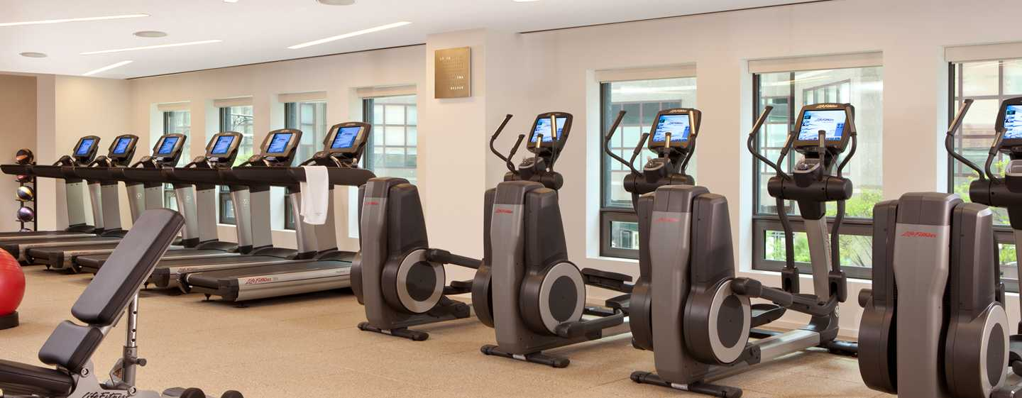 Conrad New York Hotel, USA – 24 Stunden Fitnesscenter