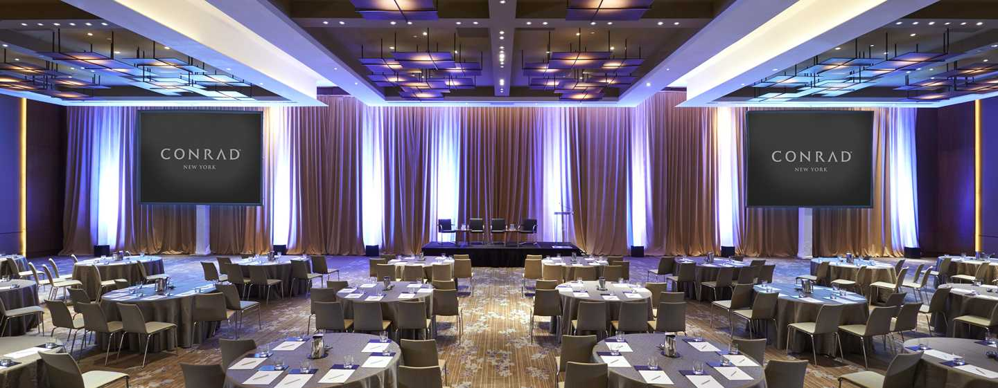 Conrad New York Hotel, USA – Ballsaal Gallery