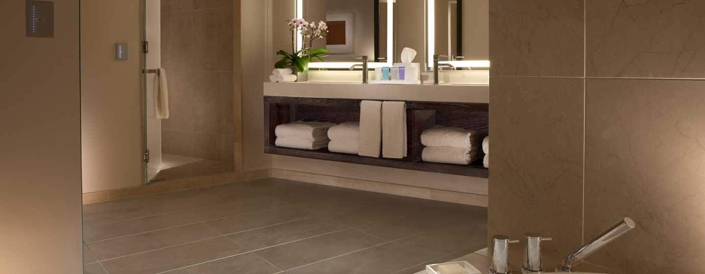 Conrad New York Hotel, USA– Badezimmer der Luxus Suite