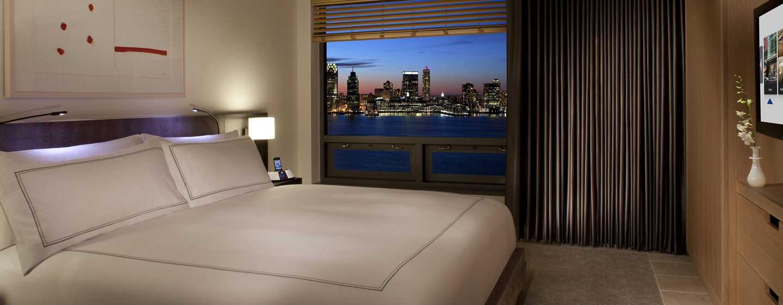 Conrad New York Hotel, USA– Suite mit Flussblick auf den Hudson