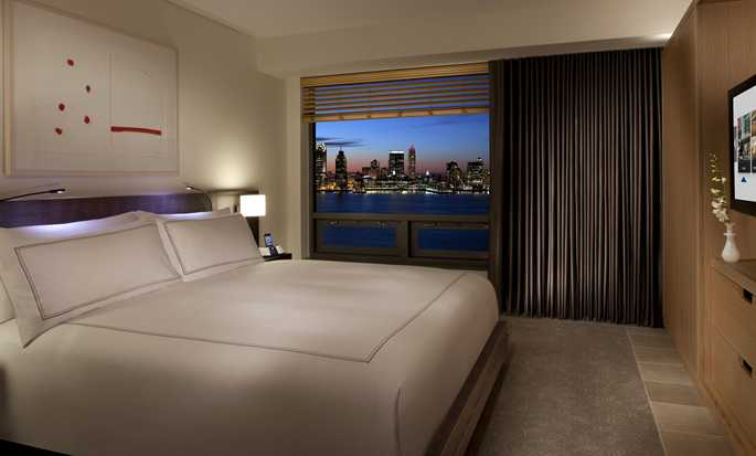 Conrad New York Hotel, USA – Zimmer mit King-Size-Bett