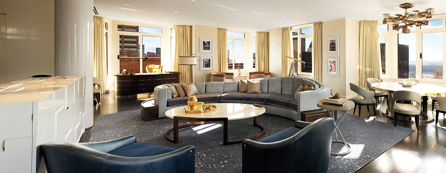 The London NYC, New York, USA – Wohnbereich der London Penthouse Suite