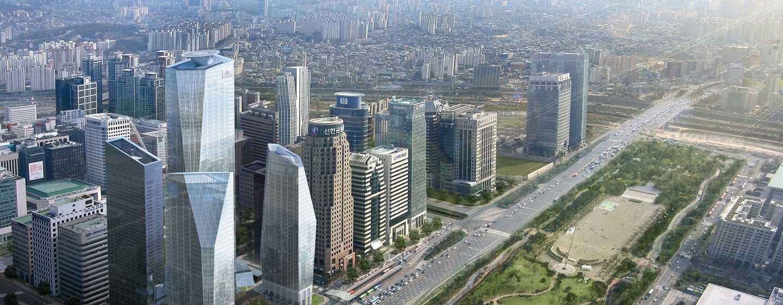 Conrad Seoul Hotel, Südkorea – Außenansicht