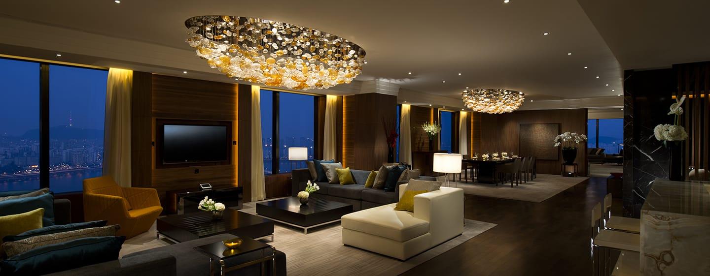 Conrad Seoul Hotel, Südkorea– Penthouse Suite
