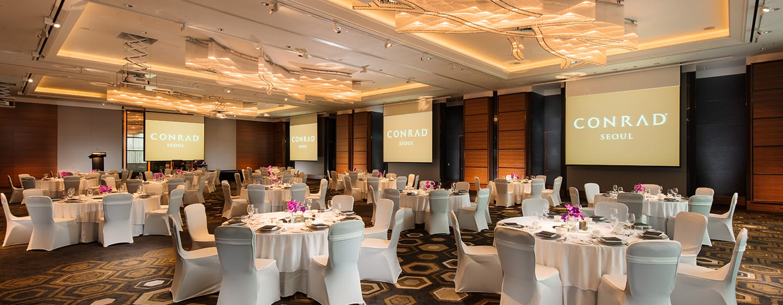 Conrad Seoul Hotel, Südkorea – Park Ballsaal