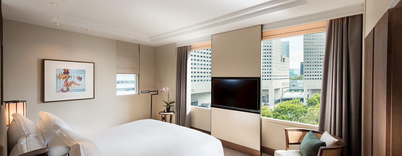 Conrad Centennial Singapore Hotel – Schlafzimmer der Centennial Suite
