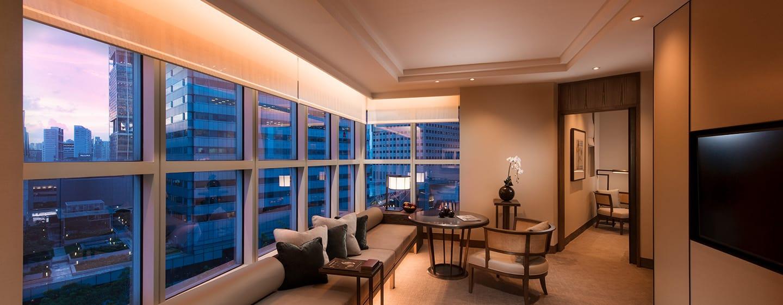 Conrad Centennial Singapore Hotel – Wohnzimmer der Centennial Suite
