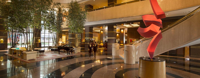 Conrad Centennial Singapore Hotel– Lobby des Conrad Singapore