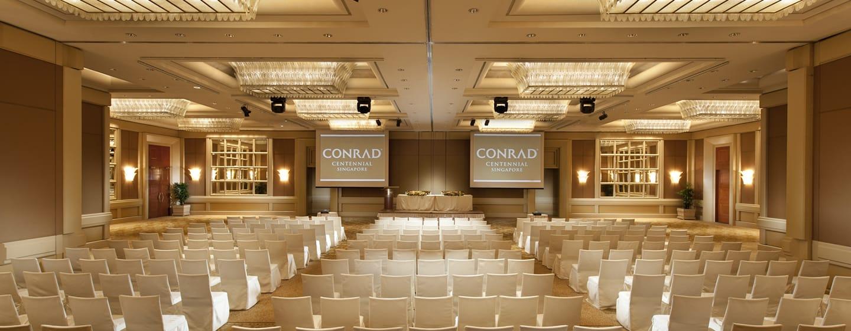 Conrad Centennial Singapore Hotel, Singapur– Ballsaal mit Theaterbestuhlung