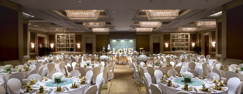 Conrad Centennial Singapore Hotel, Singapur – Ballsaal