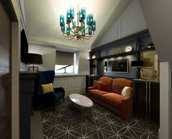 100 Queen's Gate Hotel London, Curio Collection by Hilton – Zweistöckige Suite mit Kingsize-Bett