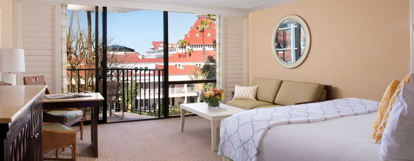 Hotel del Coronado, Curio Collection by Hilton, Kalifornien, USA – Gästezimmer