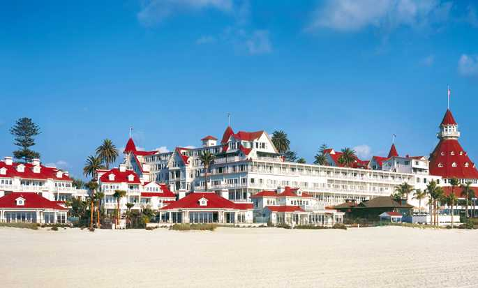 Hotel del Coronado, Curio Collection by Hilton, Kalifornien, USA – Außenbereich