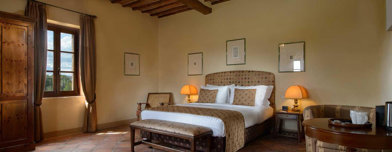 La Bagnaia Golf & Spa Resort Siena, Curio Collection by Hilton, Italien– Zimmer und Suiten