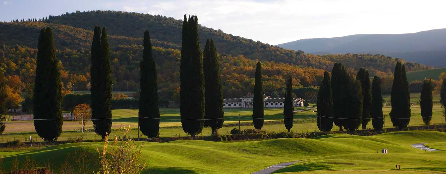 La Bagnaia Golf & Spa Resort Siena, Curio Collection by Hilton, Italien – Blick auf den Golfplatz