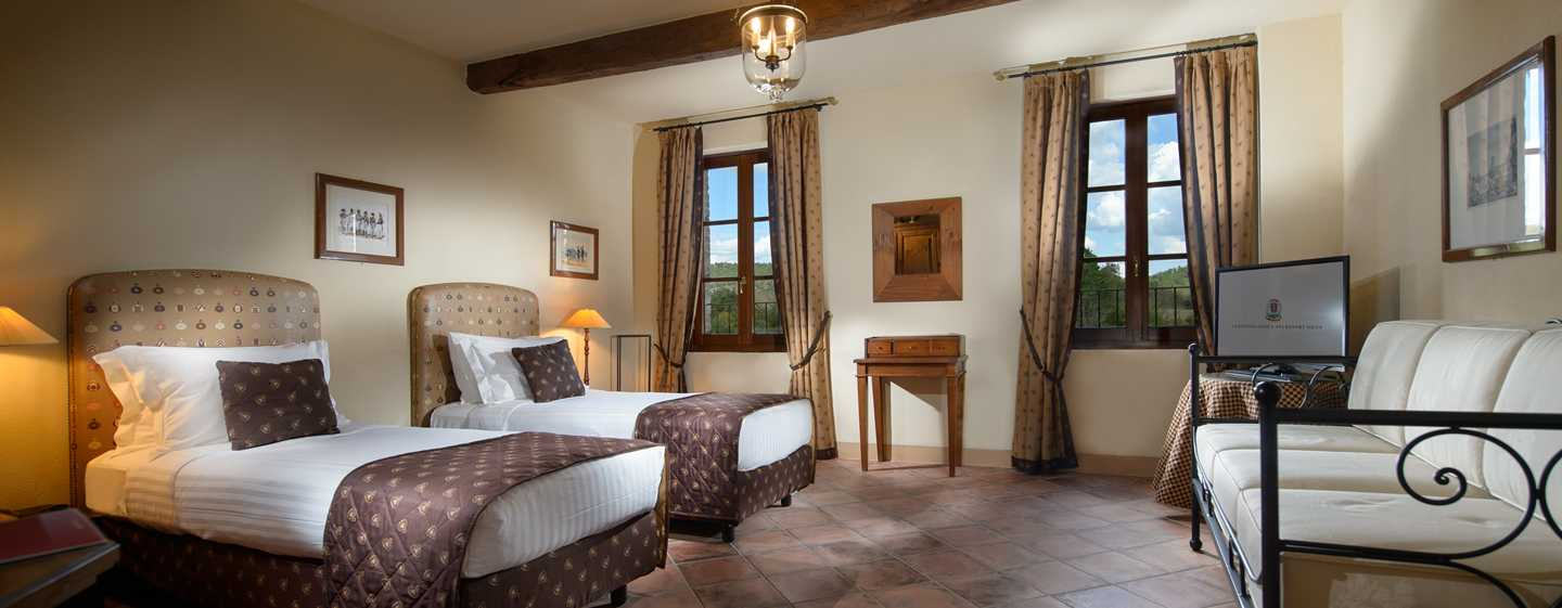 La Bagnaia Golf & Spa Resort Siena, Curio Collection by Hilton, Italien – Zweibettzimmer Filetta Superior