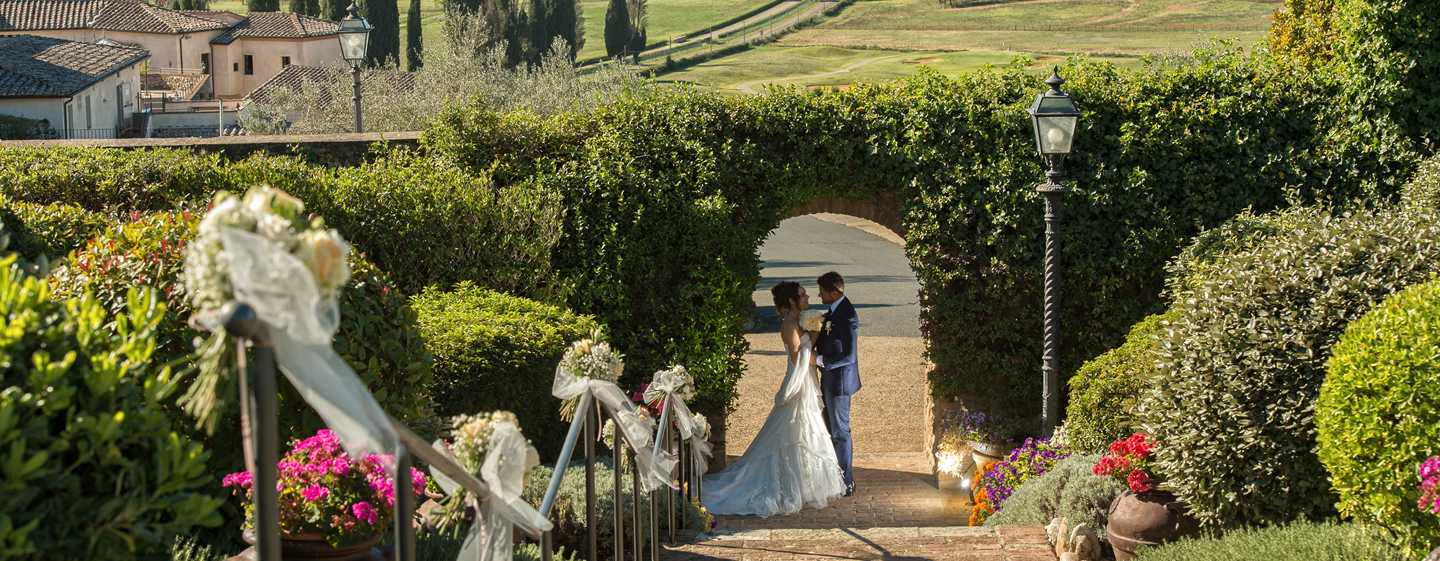 La Bagnaia Golf & Spa Resort Siena, Curio Collection by Hilton, Italien – Hochzeit
