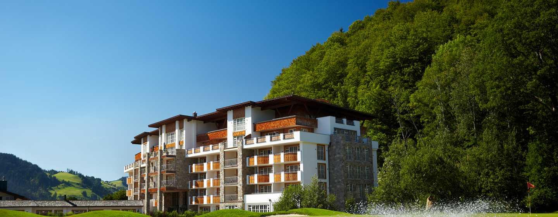 Grand Tirolia Hotel Kitzbühel, Curio Collection by Hilton, Österreich– Außenbereich des Hotels