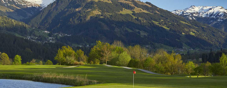 Grand Tirolia Hotel Kitzbühel, Curio Collection by Hilton, Österreich – Golfplatz auf dem Hotelgelände