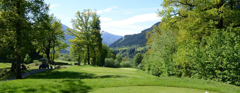 Grand Tirolia Hotel Kitzbühel, Curio Collection by Hilton, Österreich– Golfplatz