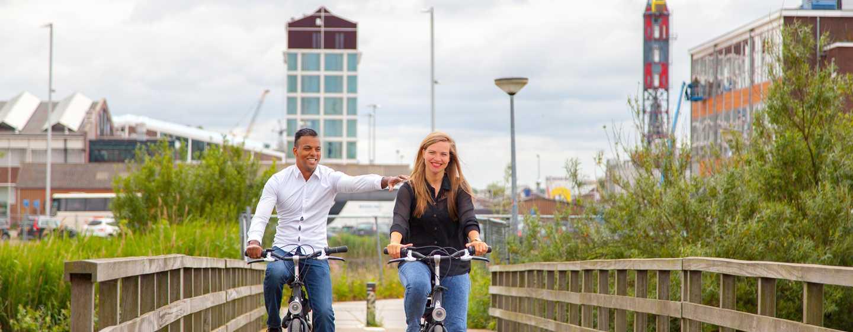 DoubleTree by Hilton Hotel Amsterdam– NDSM Wharf, Niederlande– Fahrradtour