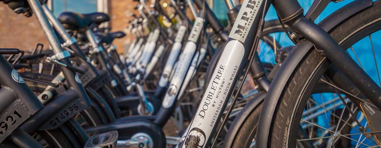 DoubleTree by Hilton Hotel Amsterdam– NDSM Wharf, Niederlande– Fahrradfahrt